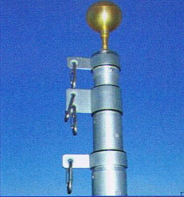 l r enterprises flagpoles telescoping flagpoles 20u0027 telescoping flagpole
